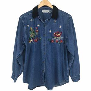 Casey & Max Christmas Shirt (XL)